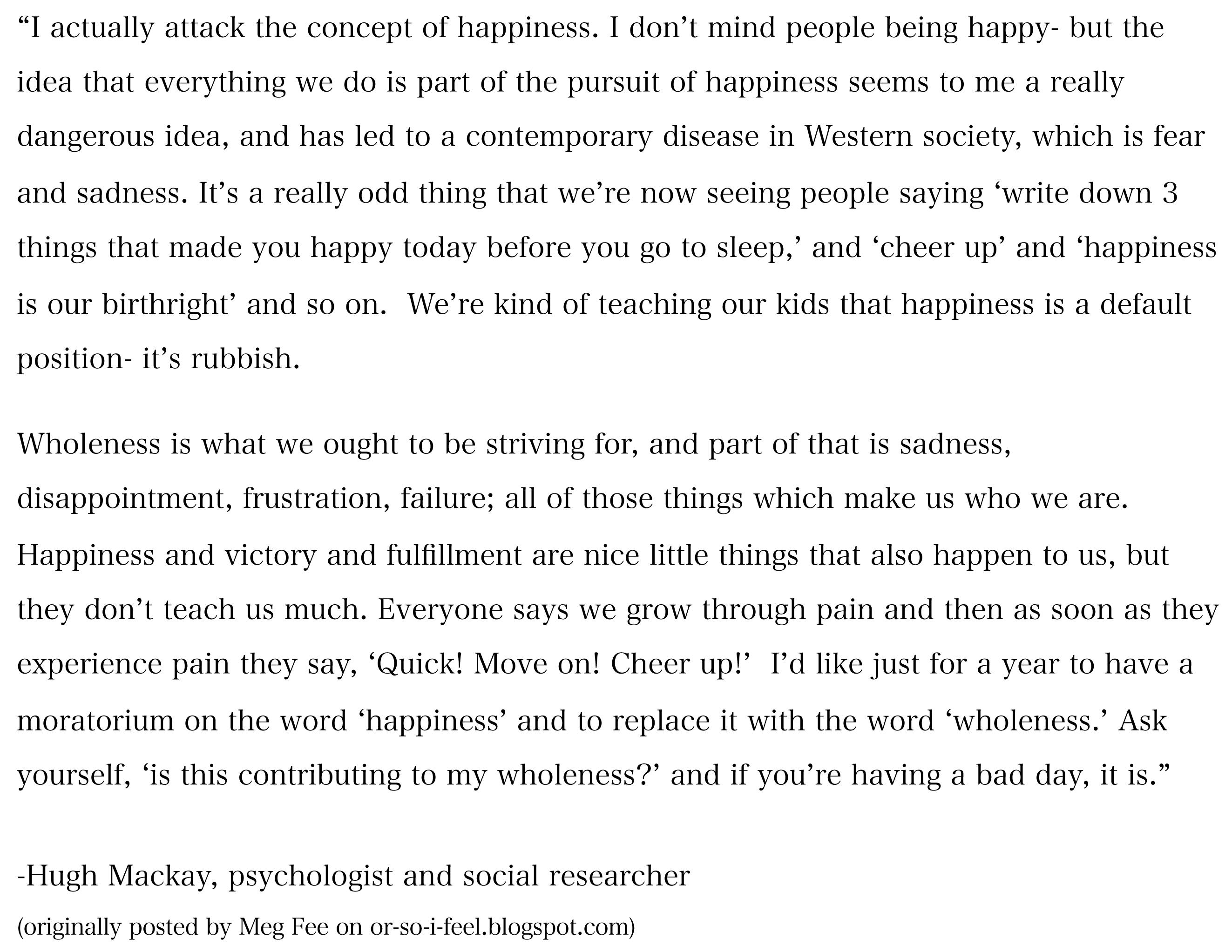 Hugh Mackay Quotes Hugh Mackay Quotes